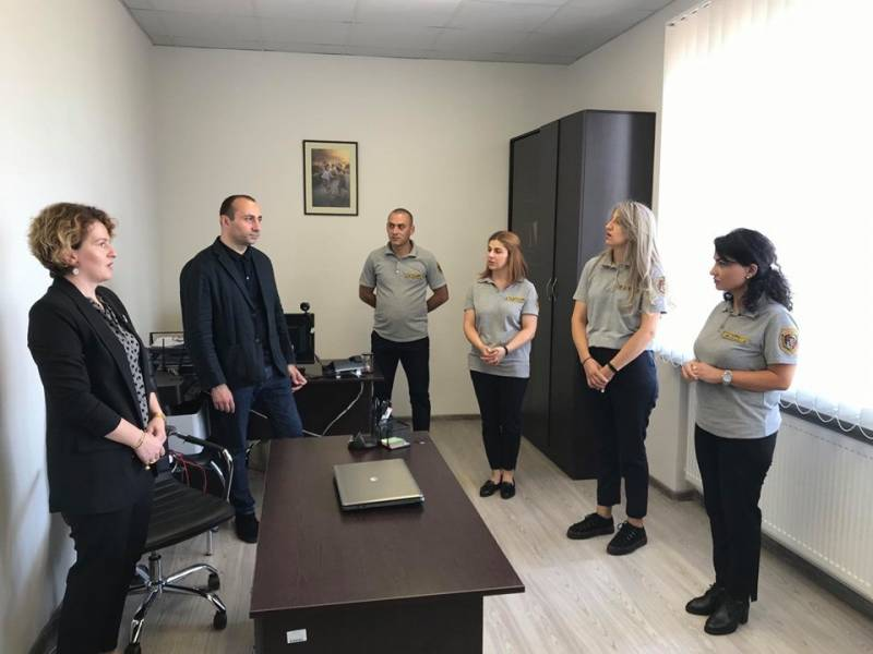 მანდატურის სამსახურის უფროსმა სამცხე-ჯავახეთის რეგიონული ცენტრის ახალი ოფისი გახსნა